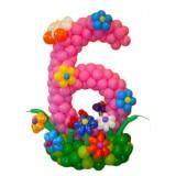 Цифры из воздушных шаров (20)