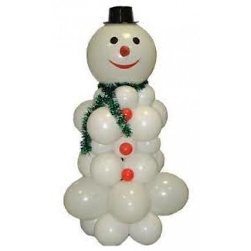 Как сделать фигуру снеговика